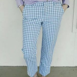 Old Navy Plus Size 28 Gigham Plaid Harper Pants